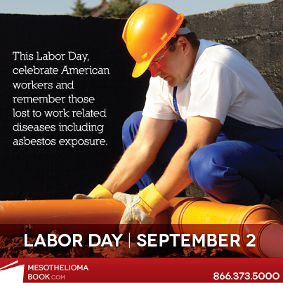 labor day and asbestos exposure in the work place