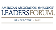 American Association for Justice Leaders Forum Benefactor Logo